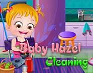 可爱宝贝大扫除
