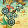 海绵宝宝摩托车越野赛