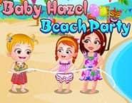 可爱宝贝海滩派对
